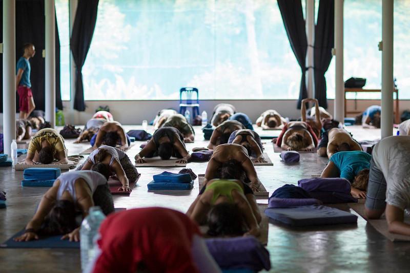 Yoga Class on Koh Phangan