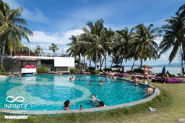 Infinity Beach Club Full Moon week 15 August 2019