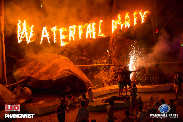 Waterfall Party 9 November  2019