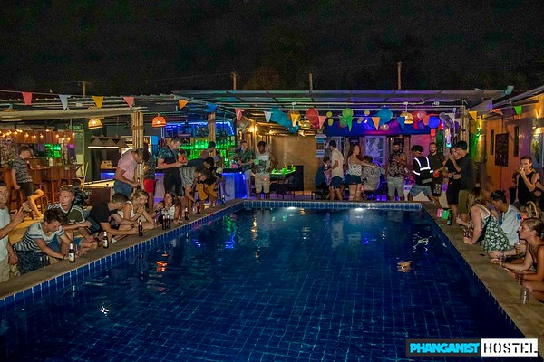 Phanganist Hostel Full Moon August 2019