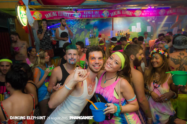 Dancing Elephant Full Moon Party WarmUp 29 August 2015