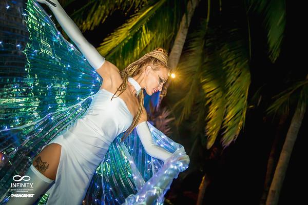 Infinity Beach Club Quartz & Roses Art Festival 15 December 2019