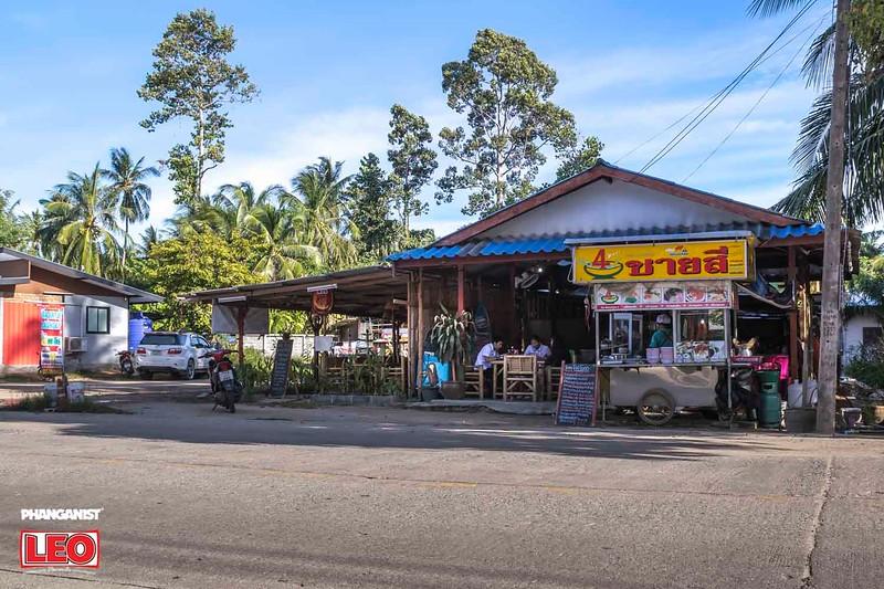 Typical local Thai restaurant Koh Phangan
