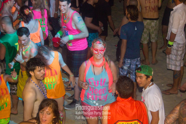 Tommy Beach Club Full Moon Party October 2012