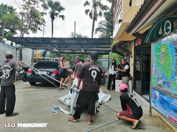 Koh Phangan Free Food Delivery - Haad Rin April 14 2020