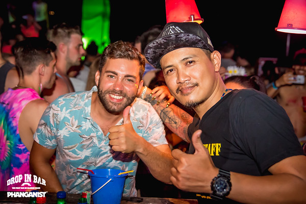 Drop In bar Full Moon Party 9 February 2020