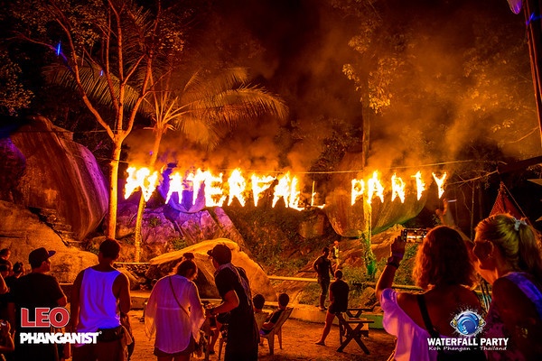 Waterfall Party 22 September 2018