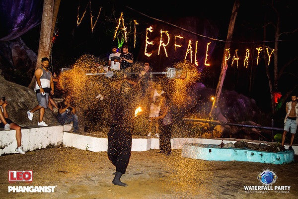 Waterfall Party 11 September 2019