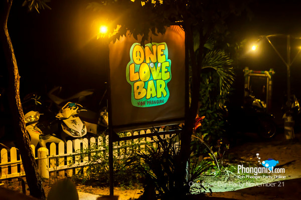 One Love Opening Party November 21