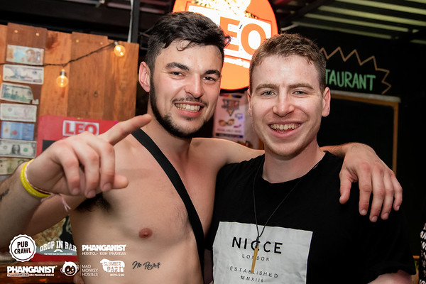 Hostel Crawl 13 December 2019