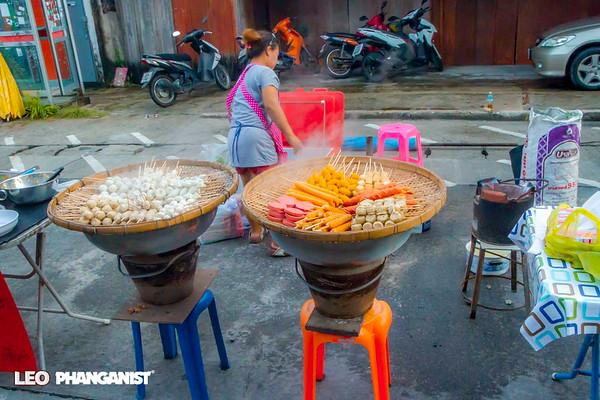 Thong Sala Walking Street Market October 29 2016