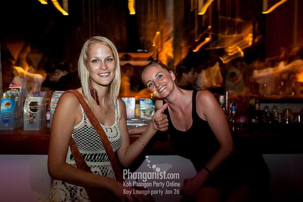 Bay Lounge day party Jan 26