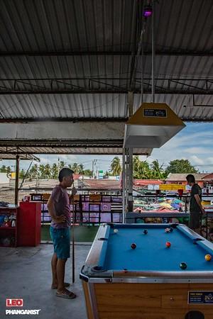 Pool Challenge at Leo Beer Garden