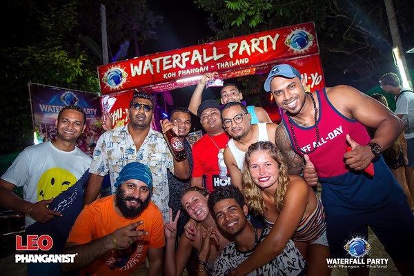 Waterfall Party 17 April 2019