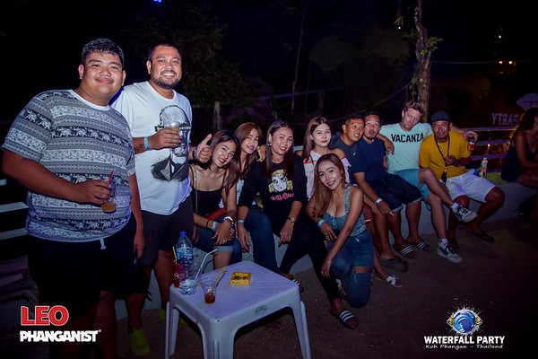Waterfall Party 14 July  2019
