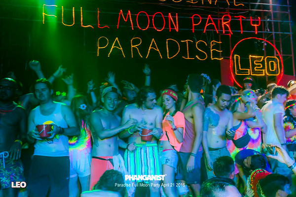 Leo Full Moon at Paradise Bungalows April 21 2016