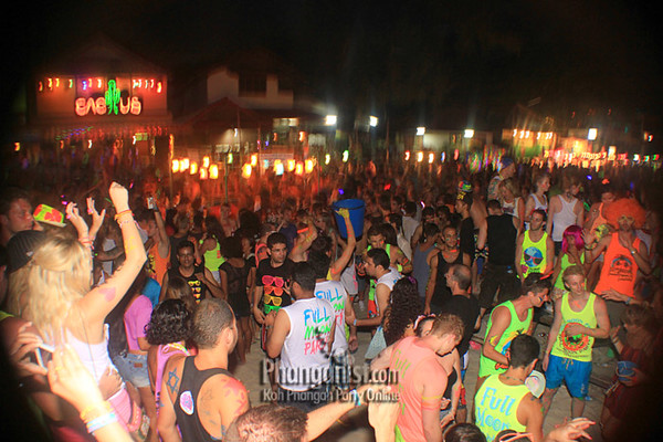 Cactus Bar Full Moon Party September 2012