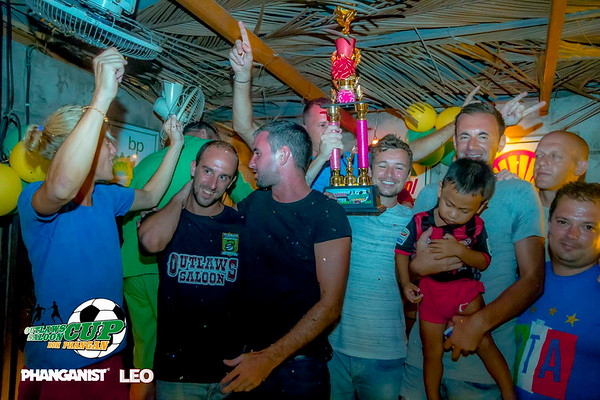 Outlaws Saloon Cup Awards Evening at Bangers and Mash September 3rd 2016