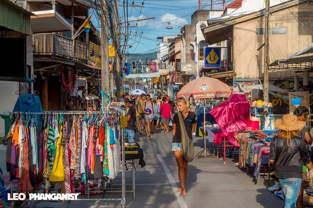 Market on Koh Phangan
