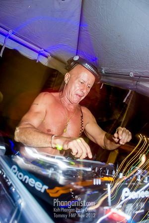 Tommy Beach Club Full Moon Party November 2012