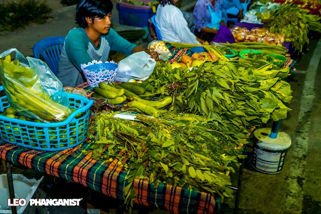 Vegetable Market Koh Phangan